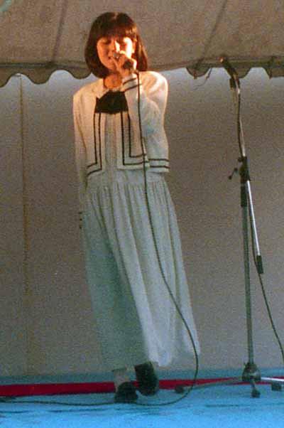 19861011第一回青山祭り佐野量子