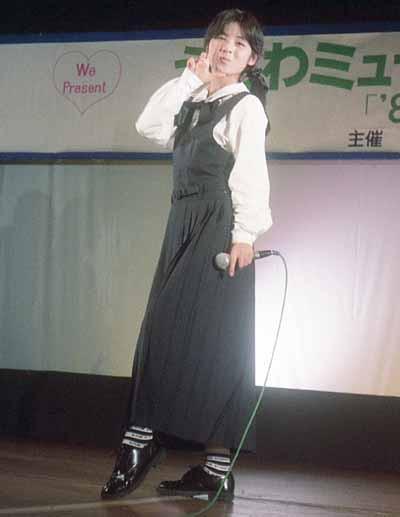 19860214うらわミュージックサタデー「'87スペシャル」佐野量子「瞳にピアス」