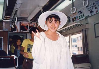 19870730守谷香_ミュージックトレイン号車内