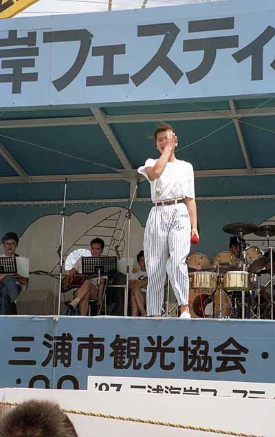 19870730三浦海岸フェスティバル_桑田靖子