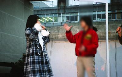 19871115蒲田パリオ_NTTテレホンカードキャンペーン_佐野量子2