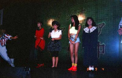 19880904佐野量子、真弓倫子、伊藤美紀、杉本彩@スタジオアゼリア