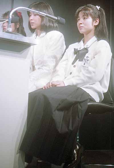 19870308アゼリアPOPパーティー出演者:藤井一子、真璃子、佐野量子