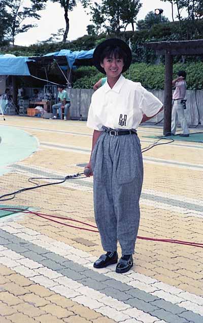 19870718Jan Janサタデー_真弓倫子2